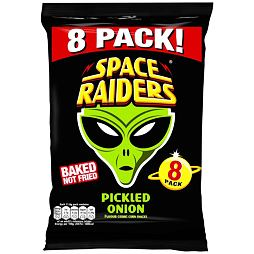 Space Raiders Pickled Onion 8x11.8 g