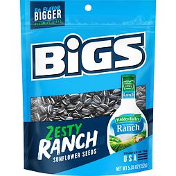 BIGS Sunflower Seeds Zesty Ranch 152 g