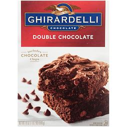 Ghirardelli Double Chocolate Premium Brownie Mix 510 g