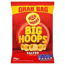 Hula Hoops Big Hoops Salted 50 g