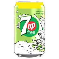 7 Up Free 330 ml PM