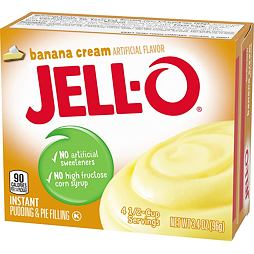 Jell-O Banana Cream 96 g