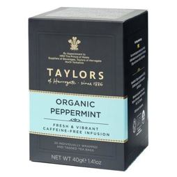 Taylors of Harrogate Organic Peppermint Tea 20ks 40g