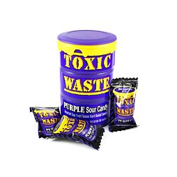 Toxic Waste Purple Sour Candy 42 g