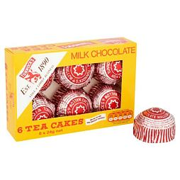 Tunnock's Milk Chocolate Tea Cakes 6x24 g