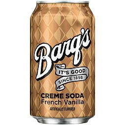 Barq's Creme Soda French Vanilla 355 ml