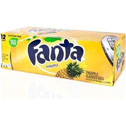 Fanta Pineapple 355 ml 12 ks Celé Balení
