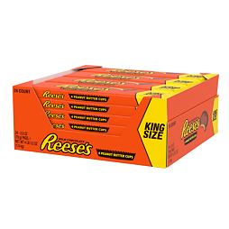 Reese's 4 Peanut Butter Cup King Size 79 g Box of 24