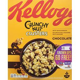 Kellogg's Crunchy Nut Clusters Chocolate 450 g