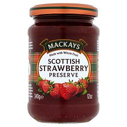 Mackays Scottish Strawberry Preserve 340 g