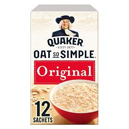 Quaker Oat So Simple Original 12 ks 324 g