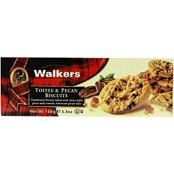 Walkers Toffee and Pecan Biscuits 150 g
