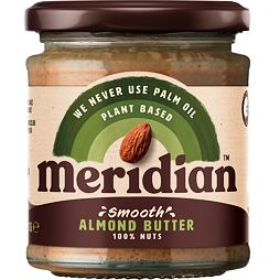 Meridian Smooth Almond Butter 170 g