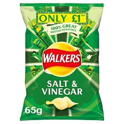 Walkers Salt & Vinegar 65 g PM