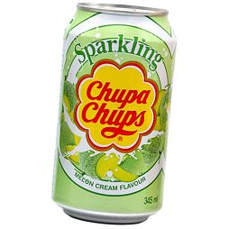 Chupa Chups Sparkling Melon & Cream Soda 345 ml