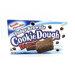 Cookie Dough Bites Fudge Brownie Double Chocolate 88 g