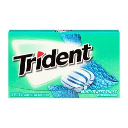 Trident Minty Sweet Twist 14 ks 27 g