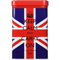 Union Jack English Breakfast Tea Tin 40 ks 125 g