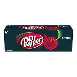 Dr Pepper Cherry 355 ml 12 ks Celé Balení