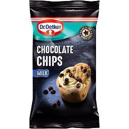 Dr. Oetker Milk Chocolate Chips 100 g