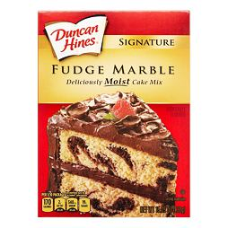 Duncan Hines Fudge Marble Moist Cake Mix 432 g