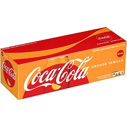 Coca-Cola Orange Vanilla 355 ml 12 ks Celé Balení