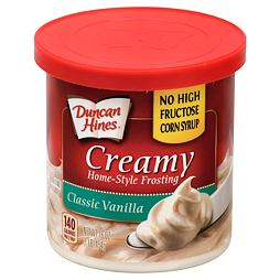 Duncan Hines Creamy Frosting Classic Vanilla 454 g