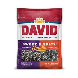 David Jumbo Sunflower Seeds Sweet & Spicy 149 g