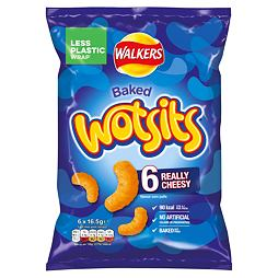 Walkers Wotsits Cheese 6x16.5 g