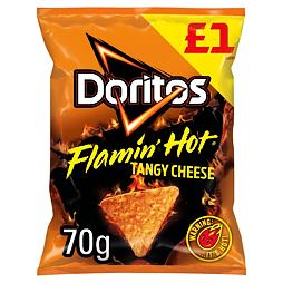 Doritos Flamin' Hot Tangy Cheese 70 g