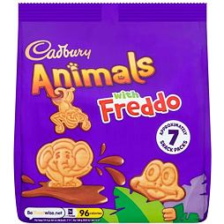 Cadbury Animals with Freddo 7x19.9 g