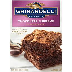 Ghirardelli Chocolate Supreme Premium Brownie Mix 531 g