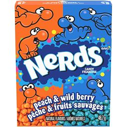 Nerds Peach & Wild Berry 46.7 g 24 ks Celé Balení