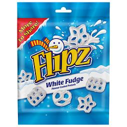 Flipz White Fudge Christmas 160 g