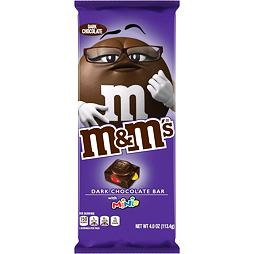 M&M's Dark Chocolate Bar with Minis 113.4 g