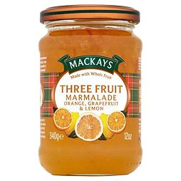 Mackays Three Fruit Marmalade 340 g