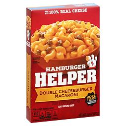 Hamburger Helper Double Cheeseburger Macaroni 170 g