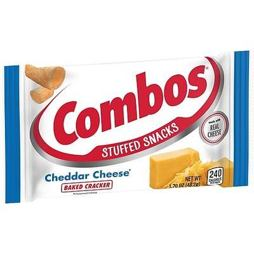Combos Cheddar Cheese Baked Cracker 48.2 g