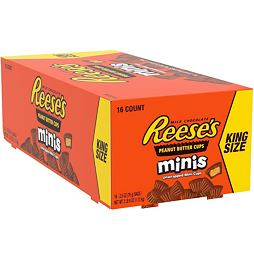 Reese's Peanut Butter Cups Minis King Size 70 g Box of 16