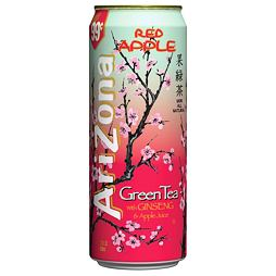 Arizona Green Tea Ginseng Red Apple 680ml