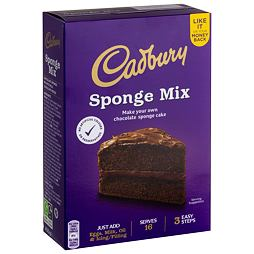 Cadbury Chocolate Sponge Cake Mix 400 g