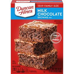 Duncan Hines Milk Chocolate Brownie Mix 510 g