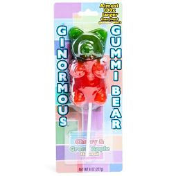 Ginormous Gummi Bear Cherry & Green Apple 227 g