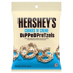 Hershey's Cookie'n'Creme Dipped Pretzels 120 g