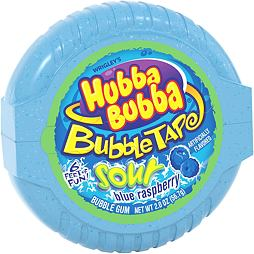 Hubba Bubba Bubble Tape Sour Blue Raspberry 56.7 g