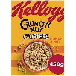 Kellogg's Crunchy Nut Clusters Honey & Nut 450 g