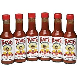 Tapatio Salsa Picante Hot Sauce 148 ml 6 ks Celé Balení