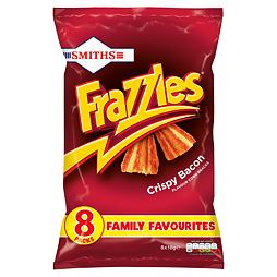 Frazzles Crispy Bacon 8pack 8x18 g
