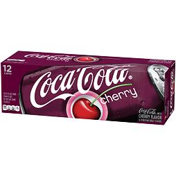 Coca-Cola Cherry 355 ml 12 ks Celé Balení