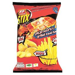 FF Stix Grilled Squid Flavor Cracker 65 g